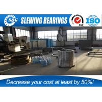 Wholesale Industrial Crane Slewing Bearing , Large Turntable Bearings Lazy Susan from china suppliers