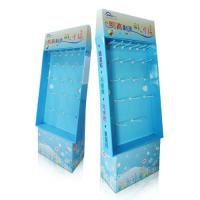 Wholesale Stickers Cardboard pegboard display stand / POP / POS Corrugated Floor Display from china suppliers