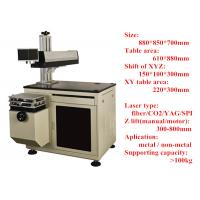 Wholesale small 10/20/30w Portable Fiber Laser Engraving Machine with frame from china suppliers