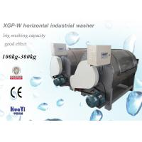Wholesale Stainless Steel Horizontal Industrial Washer / High Capacity Washing Machine from china suppliers