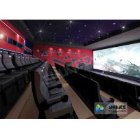 Wholesale Wonderful Viewing Experience 4D Theater Equipment Seamless Compatibility With Hollywood Movies from china suppliers