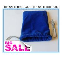 Buy cheap Sewing By Hand Lovely Velvet Drawstring Bag , Satin Drawstring Bag from wholesalers