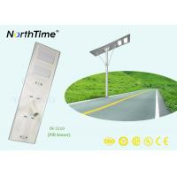 Wholesale LED Chip High Power Solar Lights / Integrated Street Light Solar Panel Aluminum Housing from china suppliers