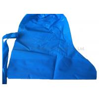 Wholesale Laboratory Polythene Shoe Cover , Blue Color Non Slip Protective Shoe Covers from china suppliers