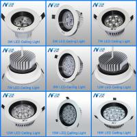 Wholesale 5 Watt Hig Lumen LED Recessed Ceiling Lights Fixtures , Round Led Ceiling Lamp from china suppliers