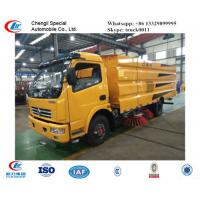 Wholesale factory sale best price dongfeng  Small 4*2 airport Runway Sweepers, hot sale new dongfeng street sweeping vehicle from china suppliers