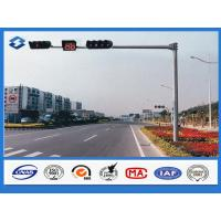 Wholesale 3mm Thickness Polygonal traffic light pole Hot dip galvanized with ASTM A 123 from china suppliers