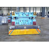Wholesale 20t mold handling caster wheel trackless cart on steel plate from china suppliers