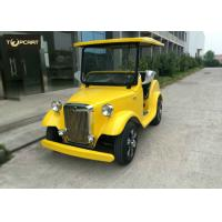 Wholesale Classical 4 Seater Luxury Antique Battery Operated Golf Buggy Plastic Bodywork from china suppliers