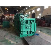 Wholesale Turnover Box And Plastic Baling Machine , Waste Paper Baling Machine from china suppliers