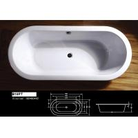 Wholesale Common Resin Bathtub High Gloss, Beauty Finish with Elegant Texture from china suppliers