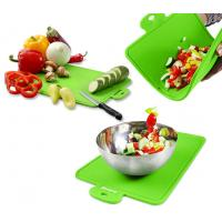 Wholesale Protable Health Durable Green Silicone Chopping Board of 7mm Thickness from china suppliers
