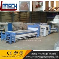 Wholesale pvc door vacuum membrane press machine for kitchen cabinet door making from china suppliers