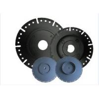 "Wholesale 7"" Diamond Circular Saw Blade With Flange , Wet / Dry Cut Stone Cutting Saw Blades from china suppliers"