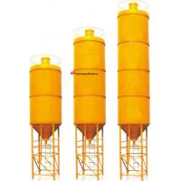 Wholesale Bolted steel Cement Silo Professional product line SNC100 yellowand white from china suppliers