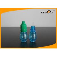 Wholesale 15ml Empty Blue E-cig Liquid Bottles with Colorful Screw Caps , Plastic E Liquid Bottles from china suppliers