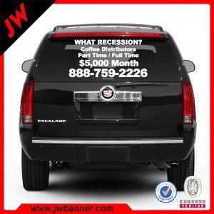 Wholesale High quality custom car vinyl sticker car number anti radar sticker from china suppliers