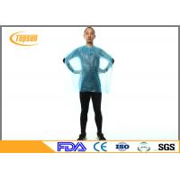 Wholesale Waterproof Disposable Plastic Salon Cape For Beauty Hair Cutting , Hair Dresser Cape from china suppliers