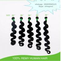 Wholesale Top Grade 8A Body Wave Virgin Remy Hair Wholesale Human Hair 100% peruvian Hair Weft from china suppliers