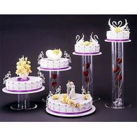 Wholesale Acrylic plexiglass display case , wedding cake display holders stands from china suppliers