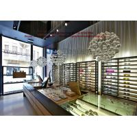 Wholesale Optics Display Counters in rectangle by Light oak wood and Tempered glass showcase from china suppliers