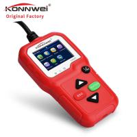 China Automotive Error Code Reader Car Engine Tester KW680 Konnwei Support Data Printing on sale