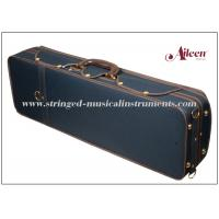 Wholesale Contrasing Nice Velvet Musical Instrument Case / Professional Violin Case Oblong Shape from china suppliers
