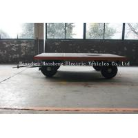 Wholesale Broad Damping Trailer Multi Purpose Blue / Yellow 1t For Short Distance Transport from china suppliers