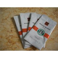 Wholesale 500gram Coffee Bean Plastic Packaging Pouch Gravure Printing from china suppliers