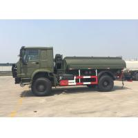 Wholesale Gasoline Transporting Oil Tank Truck / Petroleum Tanker Trucks 4X4 LHD SGS Approved from china suppliers