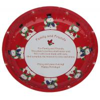 Wholesale Christmas Round Tin Serving Trays from china suppliers