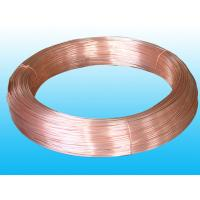 Wholesale Round Refrigeration Copper Tube / Plating Copper Coated Tube 6 * 0.5 mm from china suppliers