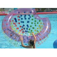 PVC / TPU Inflatable Outdoor Toys Anti Water Blow Up Air Bow For Pool Amusement