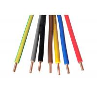 Buy cheap H07V-U Solid / Stranded Copper Single - Core House Wiring Cable from wholesalers