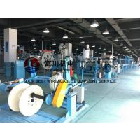 Wholesale Fuchuan PU PE PVC Extrusion Machine , BV BVR Wire Extruder Line For Wire Dia 5-20mm from china suppliers