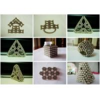 Wholesale Colorful Powerful 3MM / 5MM Neodymium Ball Magnets Neocubes from china suppliers