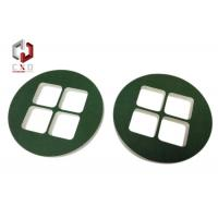 Wholesale Die-cut Round EVA Foam Packaging Covered With Green Velvet Fabric from china suppliers