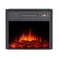 Wholesale insert electric fireplace heater EF-18 LED flame firebox with matel for living room from china suppliers