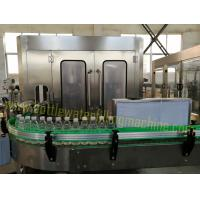 Buy cheap Stainless Steel Beverage Filling Equipment / Liquid Bottle Filling Machine from wholesalers