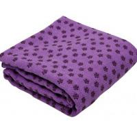 Wholesale yoga towel and yoga hand towel with antislip dots from china suppliers