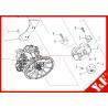 Buy cheap Kobelco Excavator Coupling LS30P01063S004 LS30P01063S003 Fix SK460-8 Excavator from wholesalers