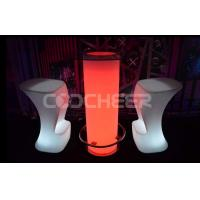 Wholesale Remote Control Color Change Illuminated Furniture Light Up Cocktail Table With Ice Bucket from china suppliers