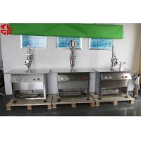 Wholesale Stainless Steel Semi Automatic Aerosol Filling Machine for Leather Spray Can Filling from china suppliers