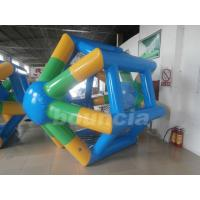 Wholesale Bule Durable Inflatable Water Roller from china suppliers