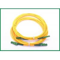 Wholesale Gigabit Ethernet E2000/APC fiber optic cable patch cord with Ultra fiber LSZH from china suppliers