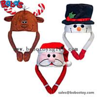 Wholesale Soft Plush Warm Winter Cap Animal Party Hat Christmas Hat from china suppliers