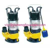 Wholesale Single Phase Sewage Submersible Pond Pump With / Without Floating Ball 0.18 - 1.1KW from china suppliers