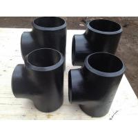Wholesale Large Diameter Carbon Steel Pipe Fittings for Oil And Gas , ANSI / ASTM / DIN Standard from china suppliers
