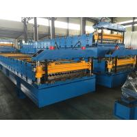 Wholesale Wall Panel / Roof Panel Roll Forming Machine 380V 50Hz 3 Phases Computer Control from china suppliers