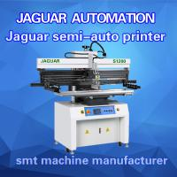Buy cheap Semi Auto SMT Stencil Printer Solder Paste Printing Machine for PCB LED Assembly Line from wholesalers